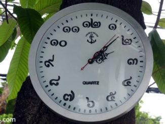 Uhrzeit in Thailand - Zeitunterschied Thailand Deutschland