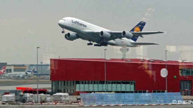 Lufthansa nach Bangkok