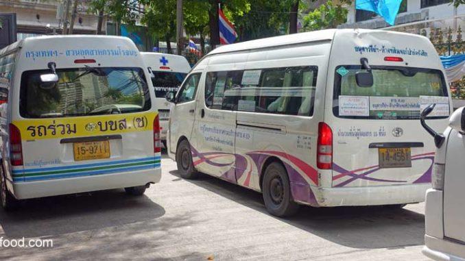 Minibus Stationen