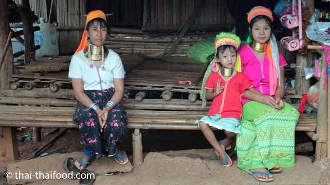 Bergvölker Thailand