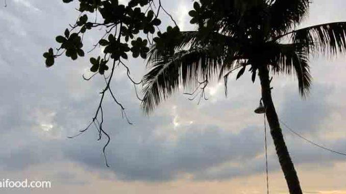 Gewitter in Thailand