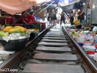Mae Klong Markt