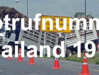 Notruf Thailand