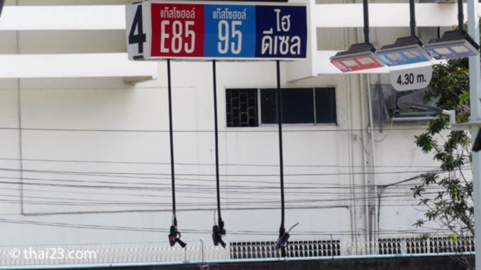 Benzinpreise Thailand