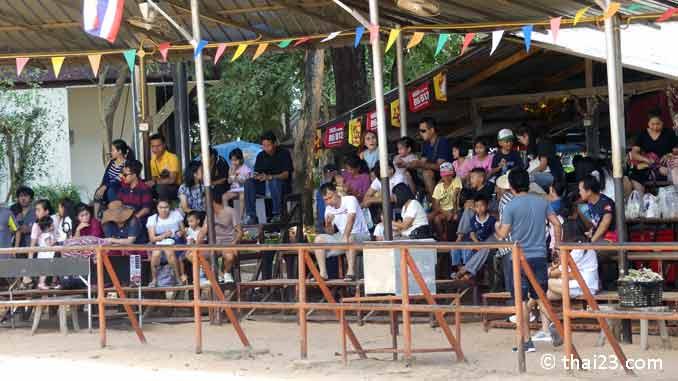 Elefantenshow Surin im Ban Ta Klang Elefantendorf