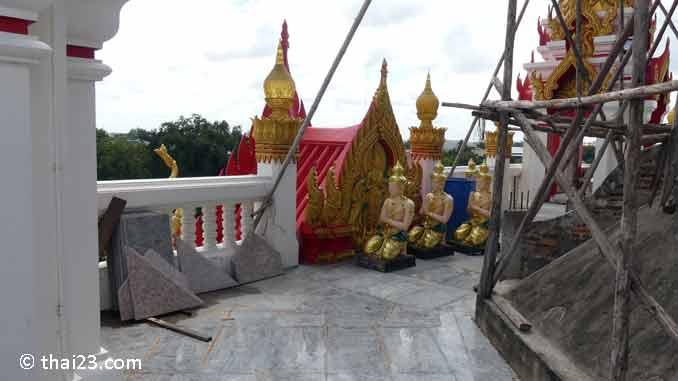 Mittlere Etage im Tempel