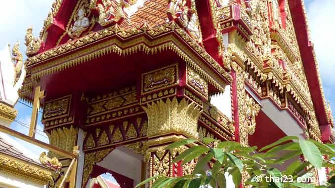 Tor zum Wat Burapharam