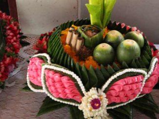 Thai Blumengirlanden