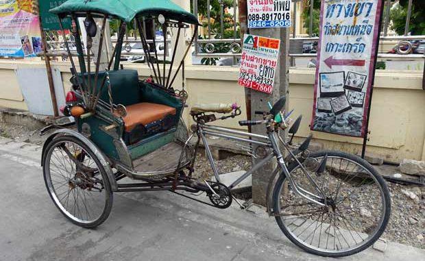 Thai Fahrradtaxi