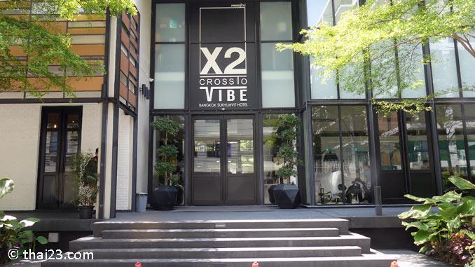 X2 Vibe Hotel an der nut bts station