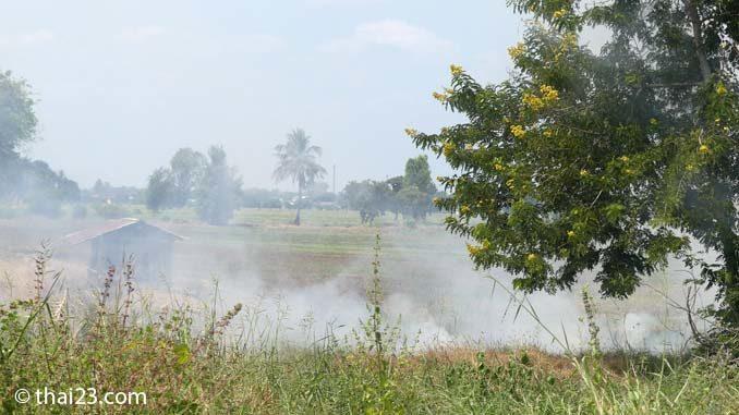 Luftverschmutzung Thailand