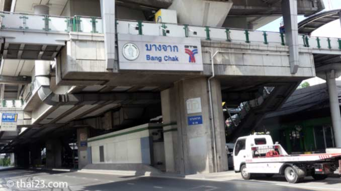 Bang Chak BTS-Station