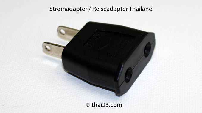 Reiseadapter Thailand